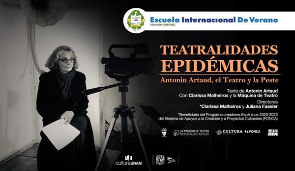 Teatralodades epidemicas  Antonin Artaud, el teatro y la peste