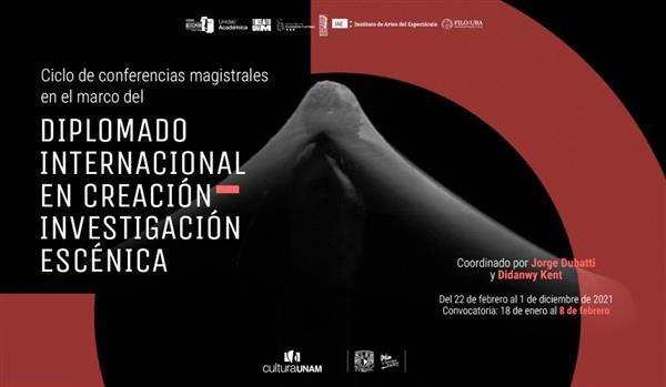 Teatro UNAM  Conferencias magistrales