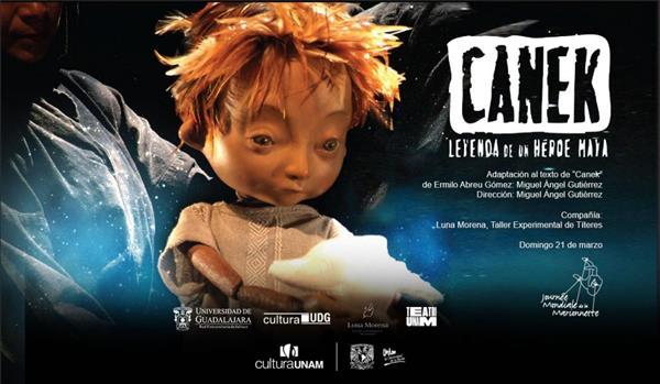 Teatro UNAM  Canek  Leyenda de un héroe maya