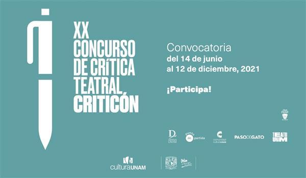 """XX Concurso de Crítica Teatral """"Criticón"""""""