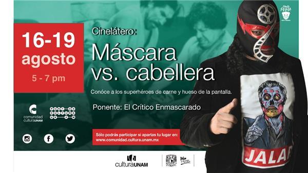 Curso   ElCinelátero  Lucha libre ycineen duelo de máscara vs cabellera