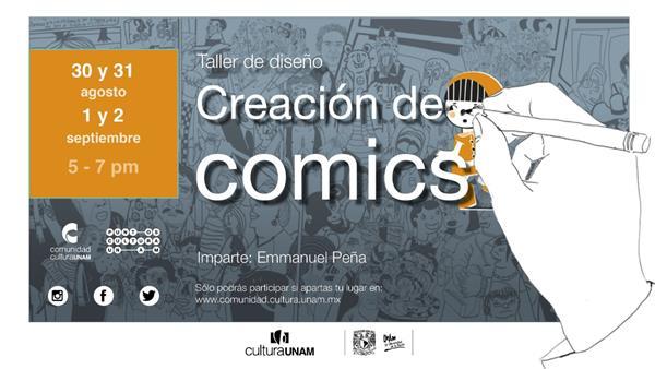 Taller de diseño  Creación de Comics