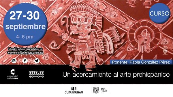 Curso  Un acercamiento al arte prehispánico