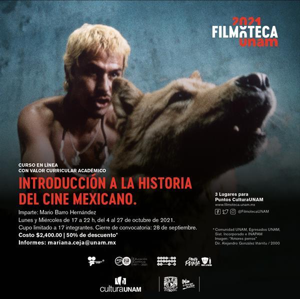 Curso a distancia  Introducción a la historia del cine mexicano