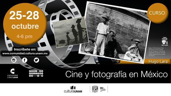 Curso  Fotografía en el cine Mexicano   Virtual