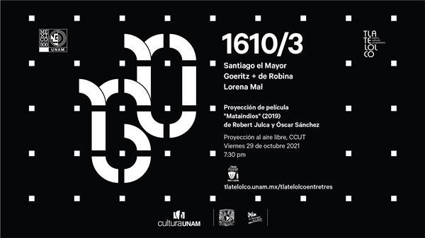 """1610 3 Proyección de la película """"Mataindios"""""""
