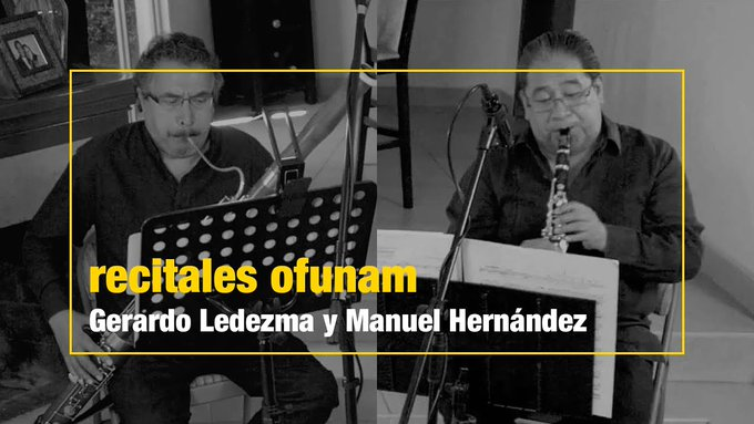 <p><strong>Recitales OFUNAM<br /></strong></p> <p></p>