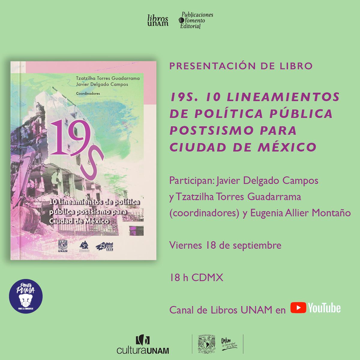 <p><strong>19S.</strong><em>10 lineamientos de política pública postsismo</em></p>